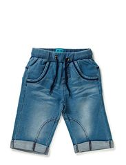 FINI BAM SW. LONG SHORTS - denim