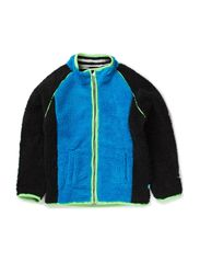 RUSTAN BAM TEDDY CARDIGAN - ELECTRIC BLUE LEMONA