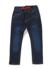 CHAMP BAM FITTED JEANS - DARK BLUE
