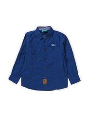 KENAN BAM LONG SLEEVE SHIRT - ESTATE BLUE