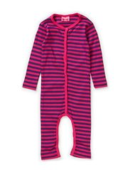 GAGGA BABY LONG SLEEVE SUIT - BEETROOT PURPLE