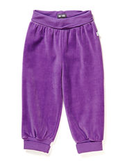 GUNDE MINI VELOUR PANTS - BELL FLOWER