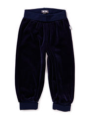 GUNDE MINI VELOUR PANTS - DRESS BLUES