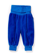GUNDE BABY VELOUR PANTS - PRINCESS BLUE