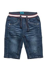 Lau 288 - Long Shorts Denim - BLUE DENIM