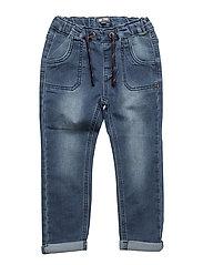 401 - Pants Sweat - BLUE DENIM