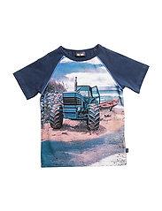 T-shirt SS Tractor - Dress Blues