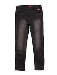 Hui 143, Jeans Slim - GREY DENIM