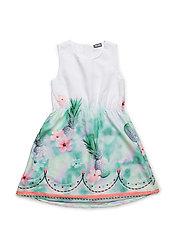 316 -Dress SS - BRIGHT WHITE