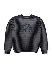 367 -Pullover Knit - NAVY NIGHT