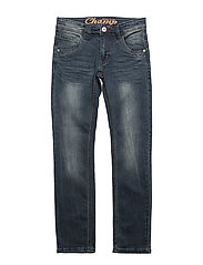 404 -Jeans Champ - DARK BLUE DENIM