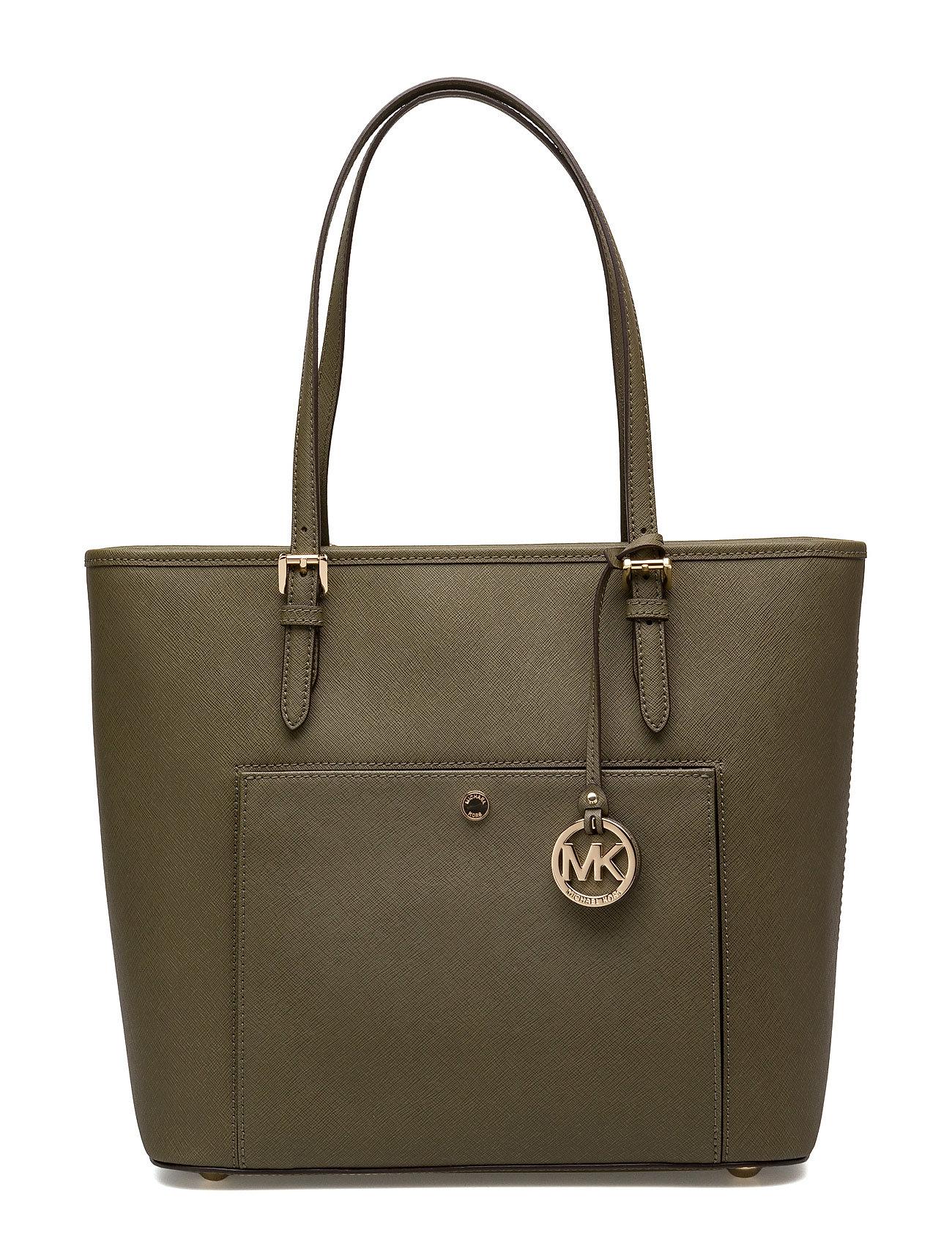 Lg Tz Snap Pckt Tote Michael Kors Bags Shopper tasker til Damer i Oliven