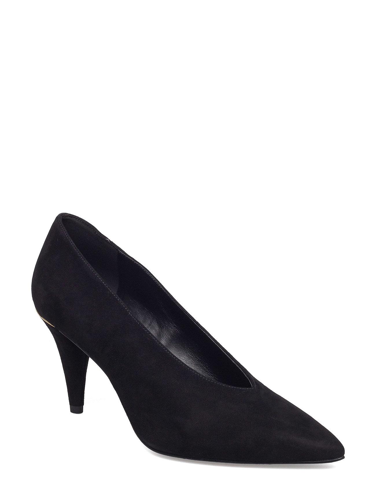851781b90030 Bestil Lizzy Mid Pump Michael Kors Shoes Stiletter i Sort til Damer på  nettet