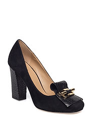 GLORIA KILTIE PUMP - BLACK