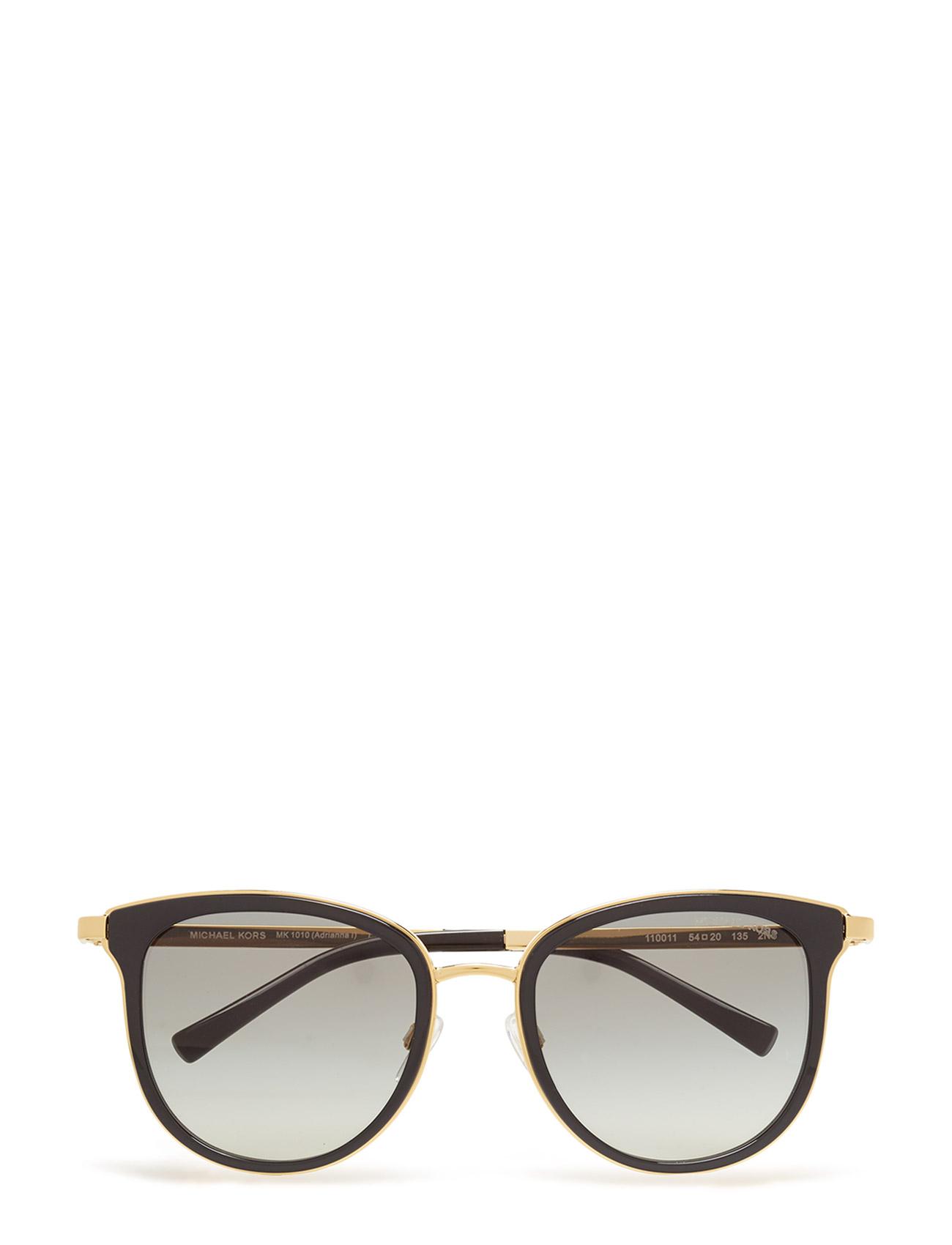 Adrianna I Michael Kors Sunglasses Solbriller til Kvinder i Sort