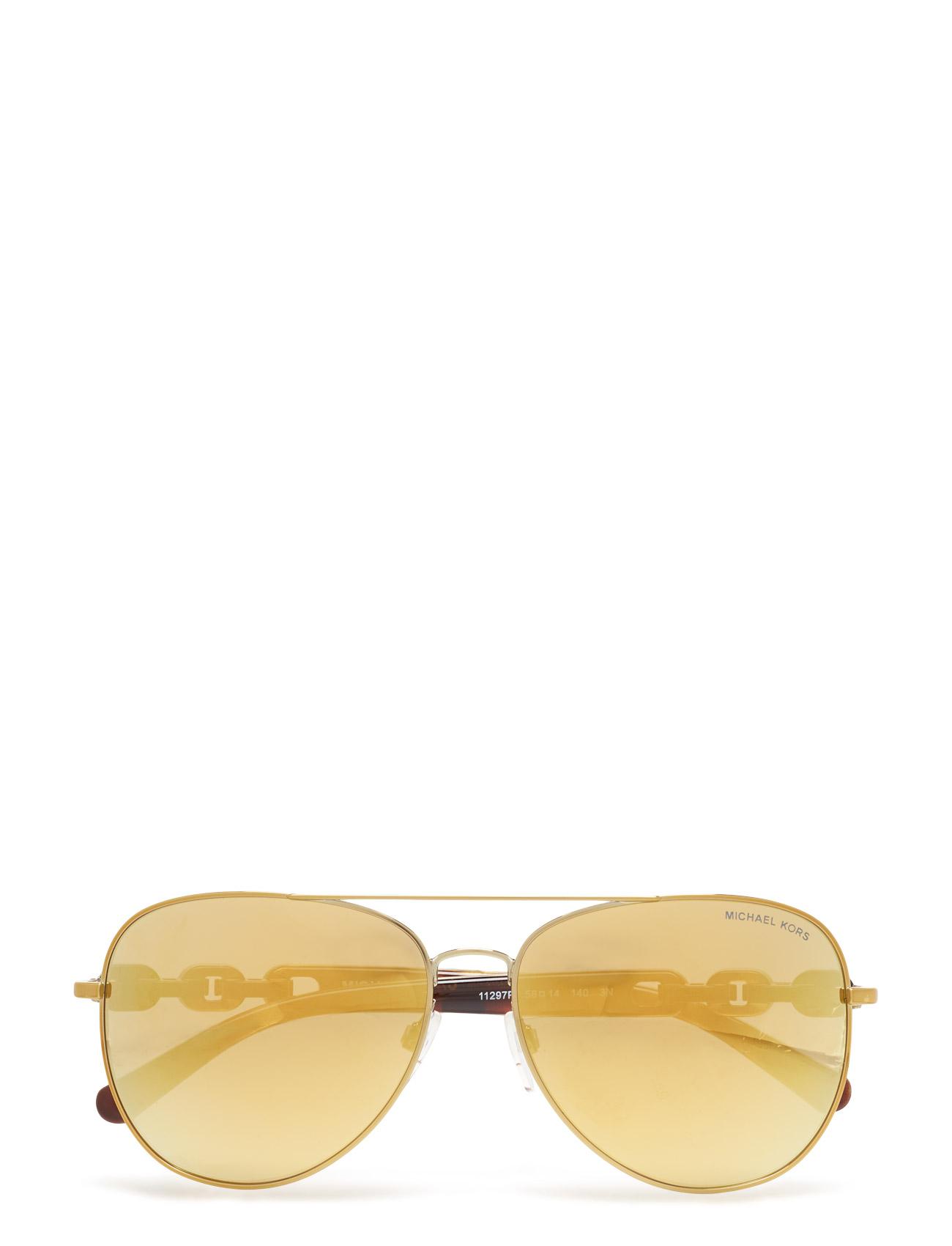 Pandora Michael Kors Sunglasses Solbriller til Kvinder i Guld