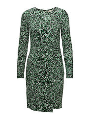 Michael Kors - Reptile Wrap Dress