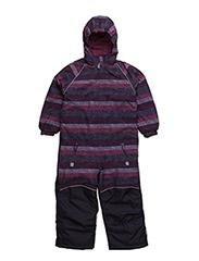 Nylon suit junior printed - GRAPE