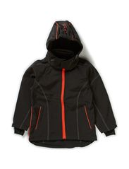 Softshell girl jacket - Mandarin Red