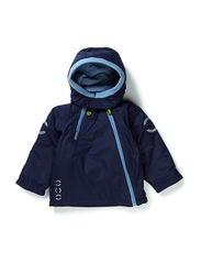 Nylon jacket baby solid color - Dark Marine