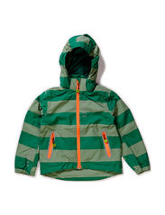Nylon boys shaped jacket - Leave green