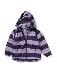 Mikk-Line Nylon Jacket, striped