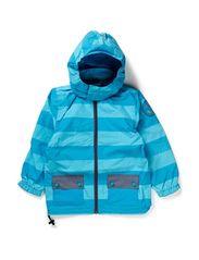 Nylon junior boy jacket - Vivid Blue