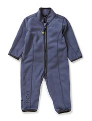 Double fleece suit with cuff - Antrazite
