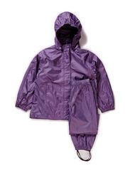 Rainwear, PE light weight - Dusty aubergine