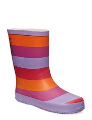 Wellies - Striped - Tulip