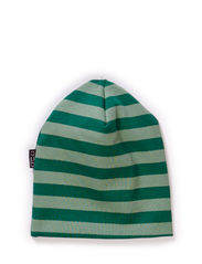 Jersey hat, stripes - Leave green