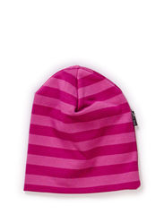 Jersey hat, stripes - Radiant orchid