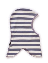 Jersey fullface, stripes sing - Graphite grey suede