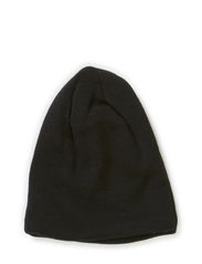 Hat wool w cotton lining - Black