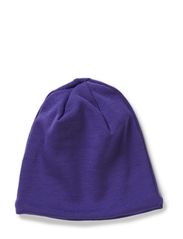 Hat wool w cotton lining - Purple