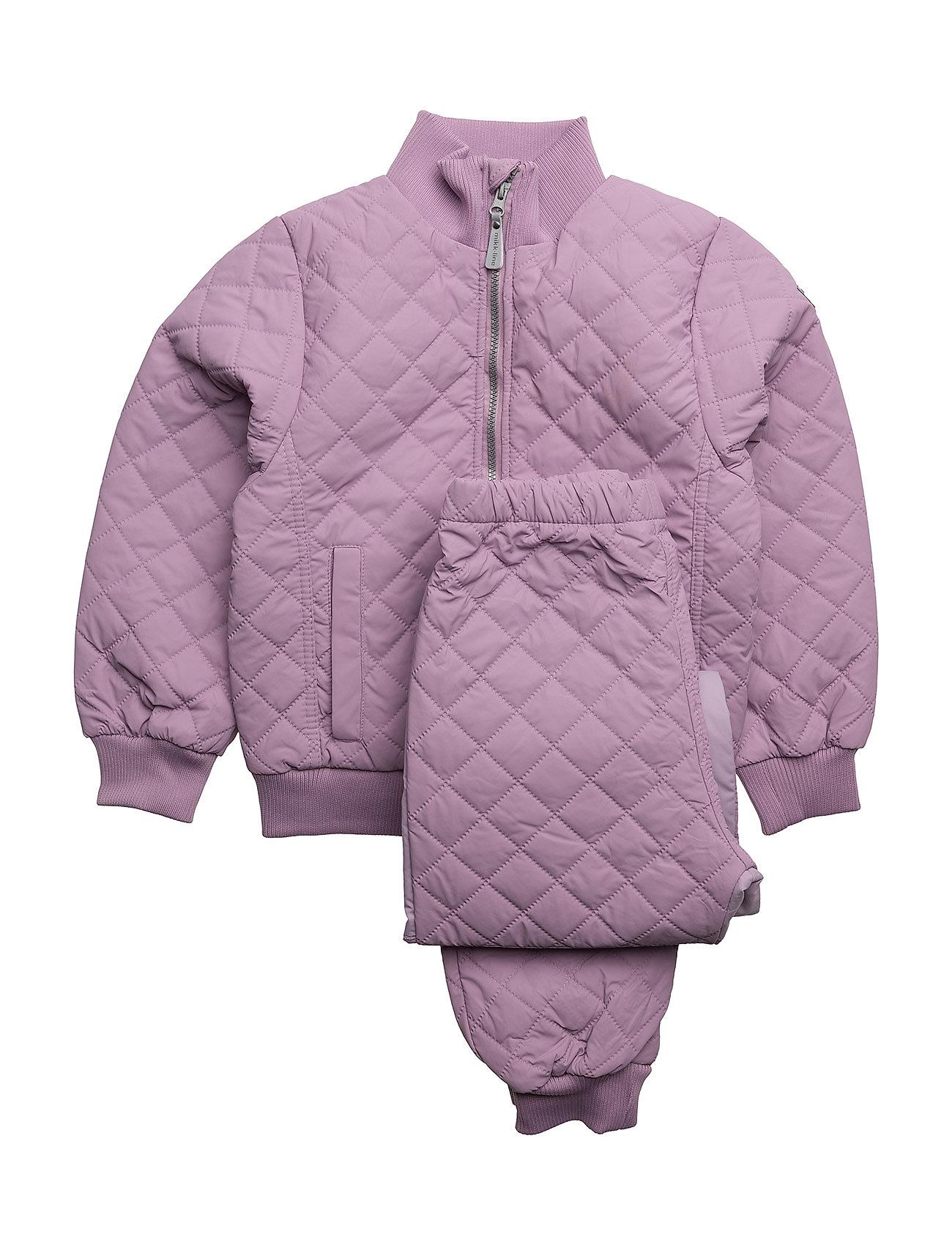 Duvet Set W/Fleece Mikk-Line Thermo & Softshells til Børn i