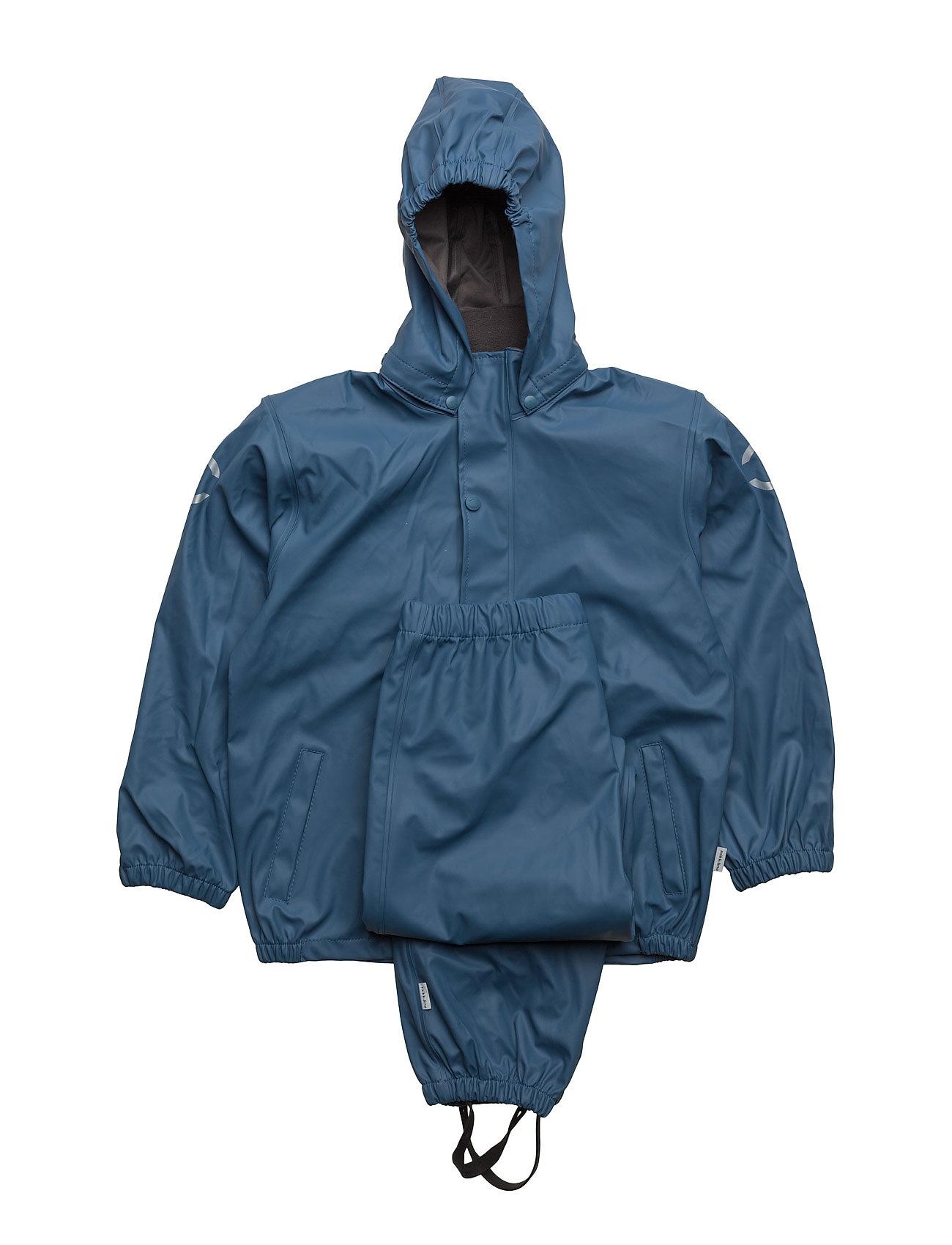 Pu Rainwear Basic Set Mikk-Line Fleece
