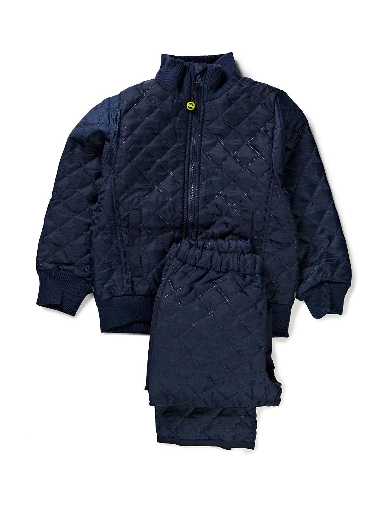 Termo Set W. Fleece In Jacket Mikk-Line Thermo & Softshells til Børn i