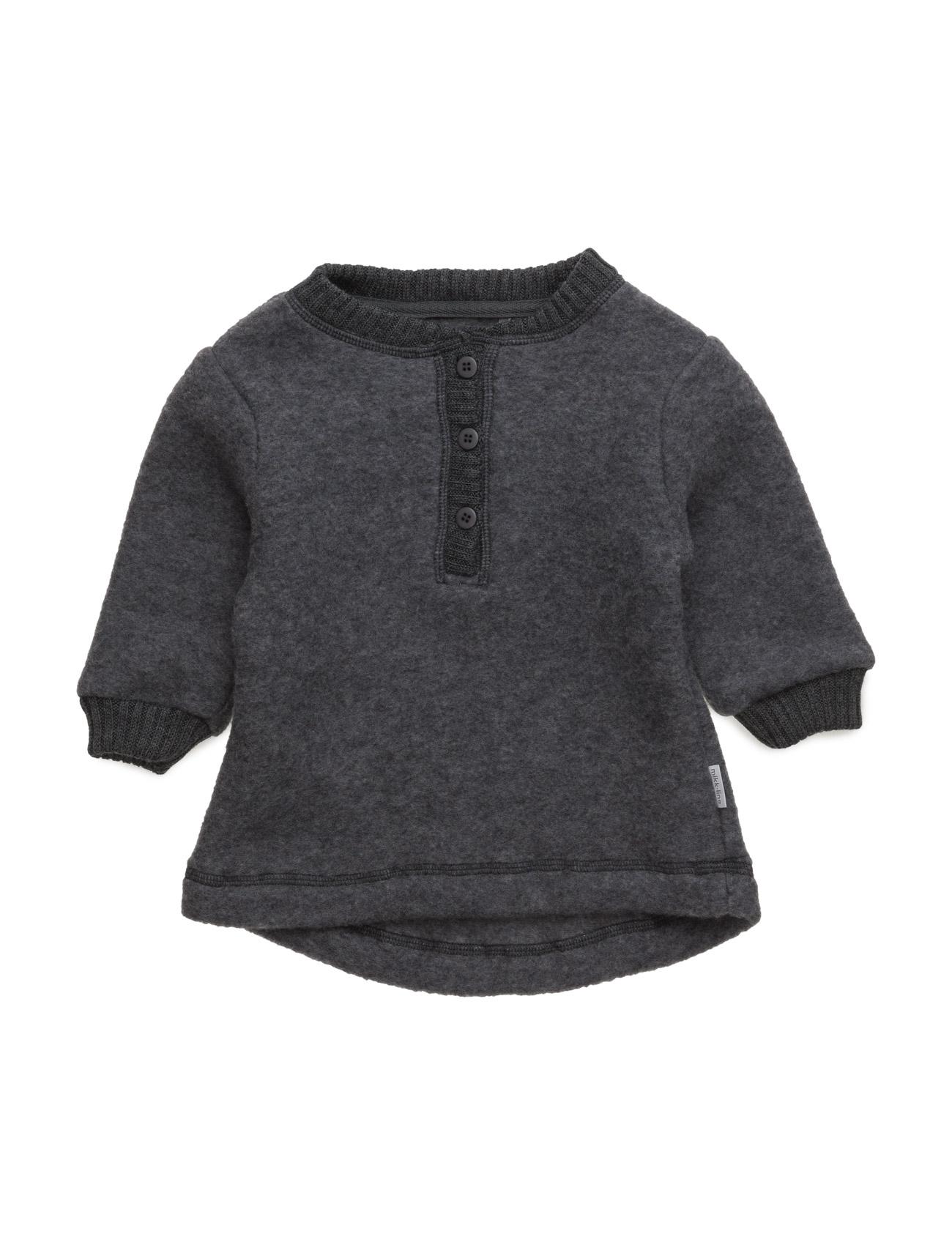 Wool Pullover Mikk-Line  til Børn i Melange Grey