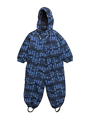NYLON Baby suit - AOP - 221/DELFTBLUE