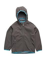 Soft shell boy jacket - 150/DARK GREY