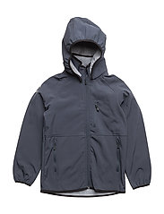 SOFT SHELL Boys jacket - 287 BLUE NIGHTS
