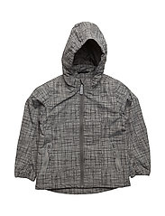 Nylon boy AOP summer jacket - 150/DARK GREY