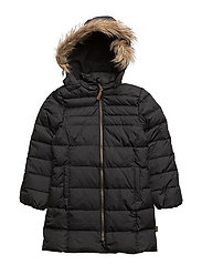 DOWN Girls coat - 190/BLACK