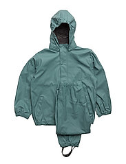 PU Rainwear Basic set - 226/MINERAL BLUE