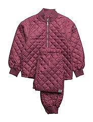 THERMO set - no fleece - 527/REDSORBET
