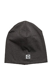 Hat solid cotton - 180/DARK GREY MELANGE