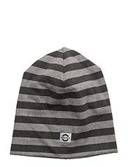 Striped hat cotton - 135/LIGHT GREY MELANGE