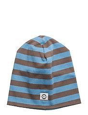 Striped hat cotton - 209 PARISIAN BLUE