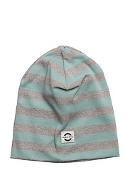 Striped hat cotton - 226/MINERAL BLUE